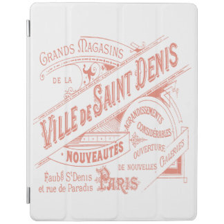French Department Store Vintage Advertisement iPad Cover