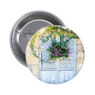 French Doors 2 Inch Round Button