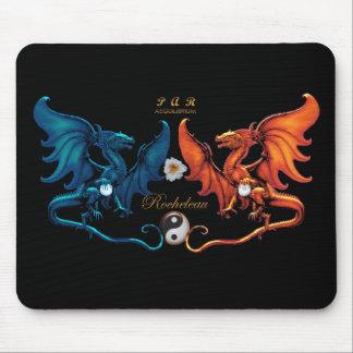 French Dragon Emblem Mousepad