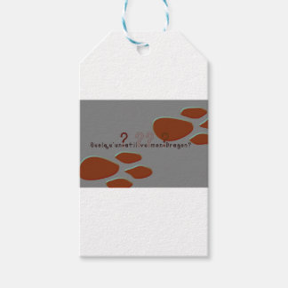 French-Dragon Pack Of Gift Tags