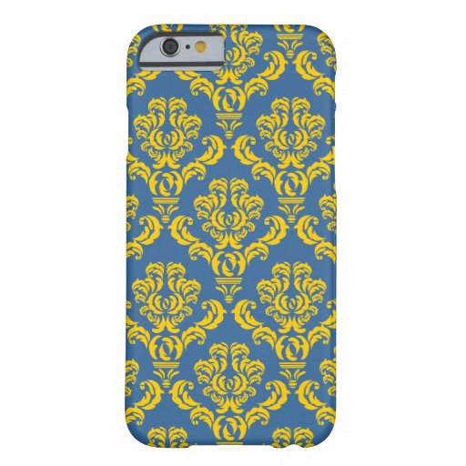French Empire Damask Pattern #10 iPhone 6 Case