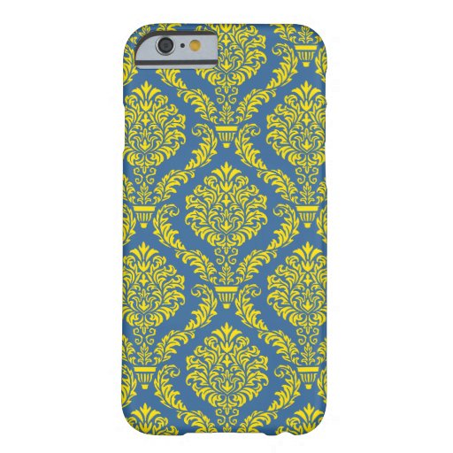 French Empire Damask Pattern #12 iPhone 6 Case