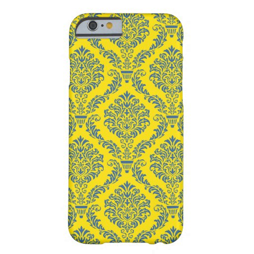 French Empire Damask Pattern #5 iPhone 6 Case