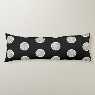 French Engraving Body Pillow