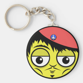French Face Keychain