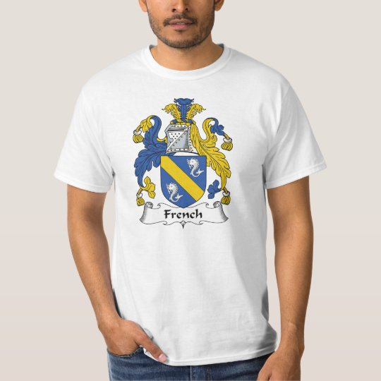 French Family Crest T-Shirt