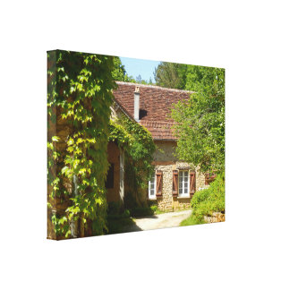French Farmhouse and Gite Canvas Print