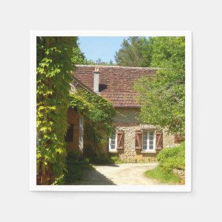 French Farmhouse and Gite Paper Napkins