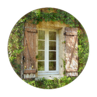 French Farmhouse Window Glass Chopping Board