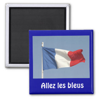 French flag, Allez les bleus Magnet