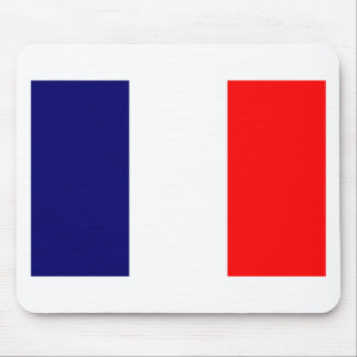 French Flag Design - OUI ! Mouse Pad