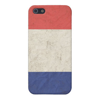 French Flag Distressed Cases For iPhone 5
