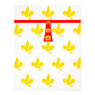 French flag- letterhead