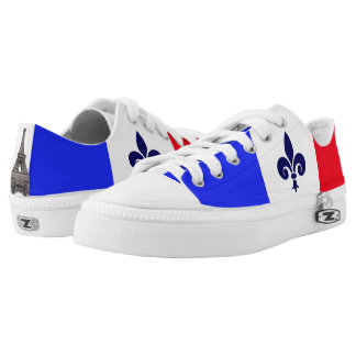 French flag Low-Top sneakers