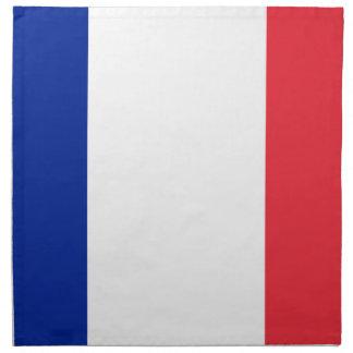 French Flag Napkin