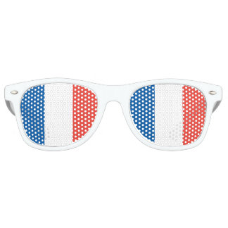 French Flag Party Sunglasses