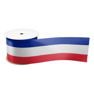 French Flag Ribbon Satin Ribbon