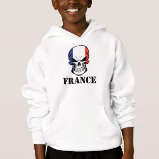 French Flag Skull France