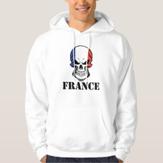 French Flag Skull France Hoodie