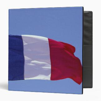 French flag vinyl binder