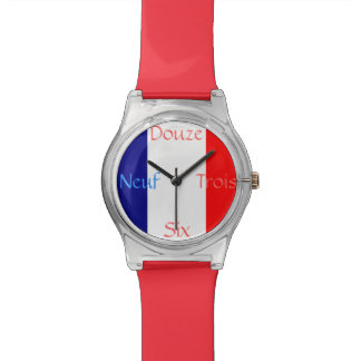 French Flag Watch