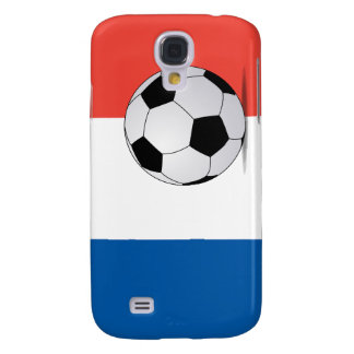 French Flag with Soccer Ball