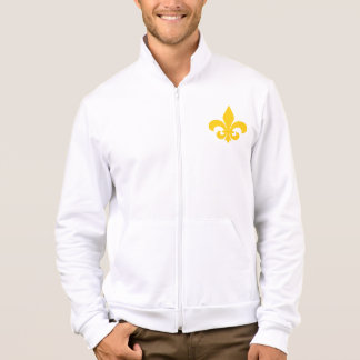 French Fleur-de-Lys Men's Fleece Jacket