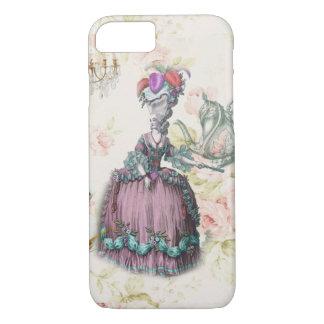 French floral Paris Tea Party Marie Antoinette Case-Mate iPhone Case