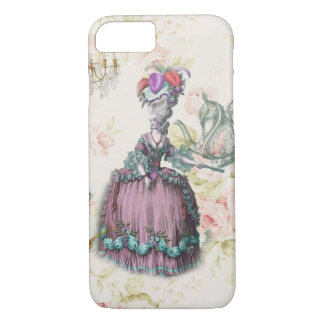 French floral Paris Tea Party Marie Antoinette iPhone 7 Case