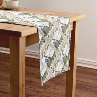 french football coach short table runner
