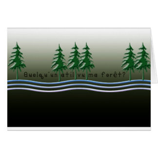 French-Forest Card