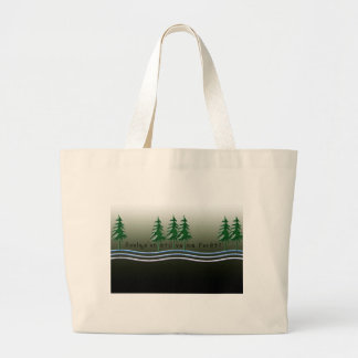French-Forest Large Tote Bag