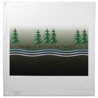 French-Forest Napkin