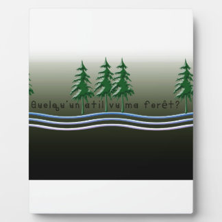 French-Forest Plaque