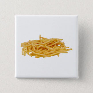 French Fries 2 Inch Square Button