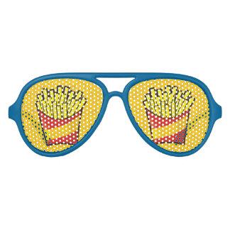 French Fries Aviator Sunglasses