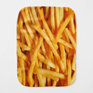 French Fries Baby Burp Cloths