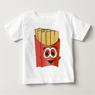 French Fries Cartoon Baby T-Shirt