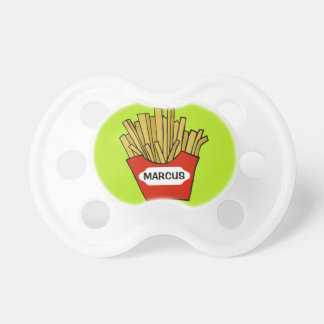 French fries custom pacifier