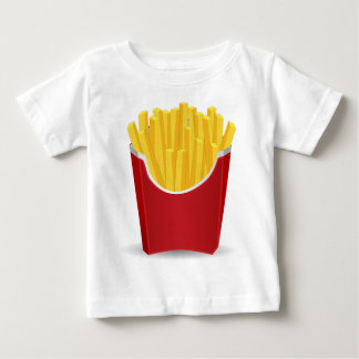 French Fries Drawing Baby T-Shirt