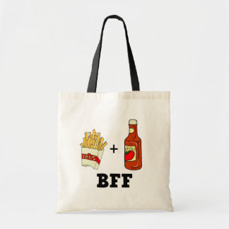 French fries & Ketchup BFF Tote Bag