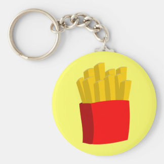 French Fries Keychain