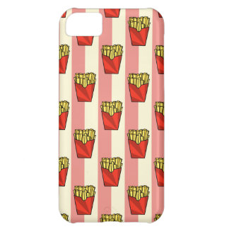 French Fries Pattern iPhone 5C Case