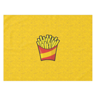 French Fries Tablecloth