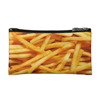 French Fries Yum Cosmetics Bags