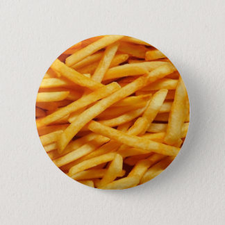 French Fry 2 Inch Round Button