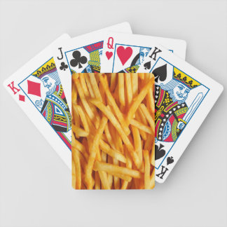 French Fry Bicycle Playing Cards