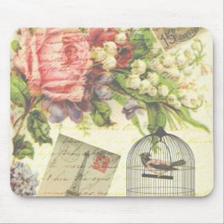 French Garden Mouse Pad
