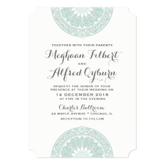 French Garden Wedding Invitations from Versailles
