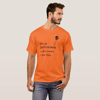 French Gentleman T-Shirt